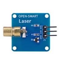 Mở Thông Minh 5V 3.3V 650nm Laser Cảm Biến 6Mm Laser Đỏ Dot Diode Đầu Đồng Với triode Hiện Tại Bộ Khuếch Đại Cho Arduino