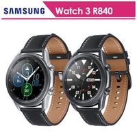 【SAMSUNG 三星】Galaxy watch 3 45mm 藍牙 不鏽鋼 智慧手錶 SM-R840(送玻璃保貼)