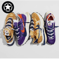 STAR🔹爆款 Sacai x Nike Vaporwaffle 藍紫卡其 DD1875-200 DD1875-500