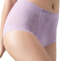 【Wacoal 華歌爾】美姿褲系列64-82高腰三角修飾褲(琉璃紫)