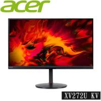 【Acer 宏碁】福利品 XV272U KV 27型 IPS 170hz 無邊框電競螢幕(保固三年)