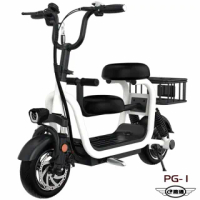 【e路通】PG-1 寵兒 48V 高碳鋼 鋰電 10AH 寵物親子 LED燈 摺疊電動車(電動自行車)