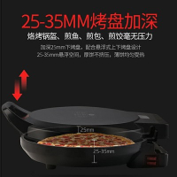 110V電餅鐺電餅檔家用雙面加熱煎餅機烙餅鍋正稱你小型神器