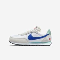 Nike Waffle Trainer 2 BG [DM7213-141] 大童 休閒鞋 運動 經典 復古 童趣 白 藍