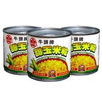 【Bull head 牛頭牌】甜玉米粒340g(超值3入組)