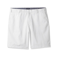 美國百分百【全新真品】Nautica 短褲 帆船牌 休閒褲 百慕達褲 素色 五分褲 褲子 白色 33腰 G522