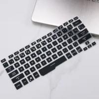 Silicone protective cover for laptop keyboard, ASUS Rog, Zephyrus G14, ga401, ga401ii, ga401iv, ga401iu 14 inch transparent skin