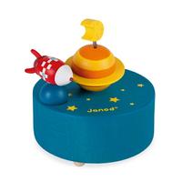 【法國Janod】童趣生活-音樂鈴(火箭星球/北極熊&企鵝)