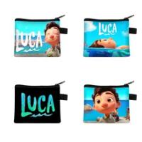 13.5*11ซม.การ์ตูน Luca Alberto Monster พิมพ์กระเป๋าใส่เหรียญเด็กของขวัญกระเป๋าสตางค์กระเป๋าเดินทางแบบพกพา...