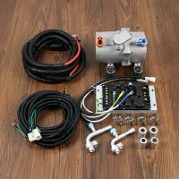 汽車空調制冷改裝電動壓縮機24v并聯駐車貨車直流變頻冷氣泵12v