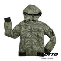 【巷子屋】義大利第一品牌-LOTTO樂得 女款防風防潑水機能連帽外套 [65650] 橄欖綠