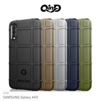 強尼拍賣~QinD SAMSUNG A50/A30s/A50s 戰術護盾保護套 背蓋 TPU套 手機殼 鏡頭保護