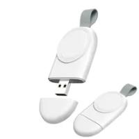 สมาร์ท USB สายชาร์จแม่เหล็กไร้สายชาร์จแท่นวางสำหรับ Apple IWatch Series 6 5 4 3 2 1 se Applewatch