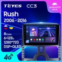 TEYES CC3 untuk Toyota Rush J200 1 2006 - 2016 Radio Mobil Pengemudi Kanan Pemutar Video Multimedia Navigasi Stereo GPS Android 10 No 2din 2 Dvd Din