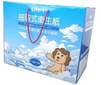 Life+ 抽取式衛生紙(箱)【躍獅】