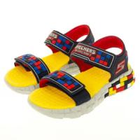 【SKECHERS】男童涼拖鞋系列 MEGA-CRAFT SANDAL(400070LNVRD)