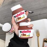 Nutella 手指餅乾 巧克力醬airpods1/2代通用  矽膠保護套 台灣現貨