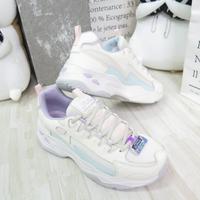 Skechers D LITES 4.0 老爹鞋 運動休閒鞋 女款 149491NTMT 白紫【iSport愛運動】