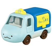 小禮堂 TOMICA多美小汽車 角落生物 造型小貨車 食物攤車 玩具車 模型車 (藍 恐龍)
