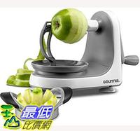 [7美國直購] 手動削皮機 Gourmia GMS9330 Apple Peeler, Corer and Slicer  Suction Non Slip Counter Grips B07K8VN517