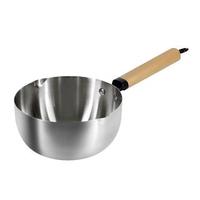 【Artist精選】加厚304不鏽鋼單柄湯鍋/雪平鍋18cm