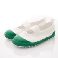 【MOONSTAR 月星】鐵氟龍室內鞋款(MSCNTF0537綠-15-19cm)