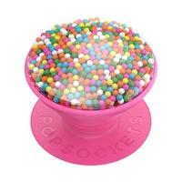 【PopSockets 泡泡騷】時尚手機氣囊伸縮支架 二代 可替換 美國 No.1(瘋狂彩糖粒)