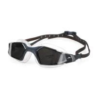 【SPEEDO】AQUAPULSE PRO 鏡面 成人運動泳鏡-競技 訓練 游泳 蛙鏡 深灰銀(SD812265D637)
