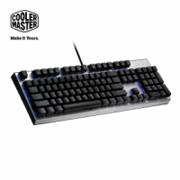 【CoolerMaster】Cooler Master CK351 機械式光軸 RGB 電競鍵盤 紅軸(CK351 光軸)