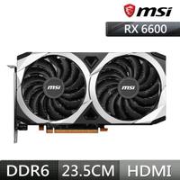 【MSI 微星】Radeon RX 6600 MECH 2X 8G AMD顯示卡
