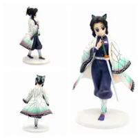 23ซม.Kochou Shinobu Kimetsu ไม่มี Yaiba Demon Slayer Action Figure ของเล่นคริสต์มาสของขวัญกล่อง