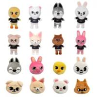 Stray Kids Skzoo Plush Toys Cartoon Stuffed Animal Doll Kawaii Companion for Children Birthday Gift