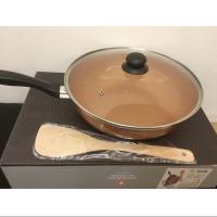 瑞士moncross銅色陶瓷炒鍋