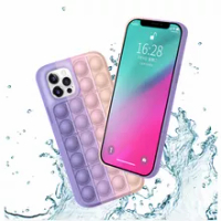 Wholesale Mobile Phone holder Cover Silicone pop it phone case