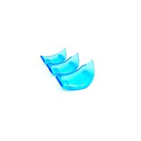 【VESPA】PROJECTA 衝刺 春天 PAS 透明系列 喇叭飾蓋 三套件組 藍款