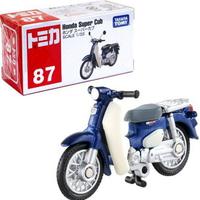 大賀屋 日貨 87 本田 Super Cub 摩托車 Tomica 多美車 多美小汽車 玩具車 正版 L00011841