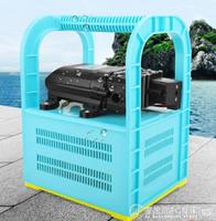 充電式抽水機充電式抽水機戶外澆菜泵農用便攜式抽水泵12v小型抽水機自吸泵QM