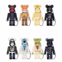 8style 70% Bearbrick Bearbrickys DIY Fashion star Toy PVC Action Figure Collectible Model Toy Decoration christmas gifts