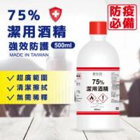 【你會買】御衣坊 75%潔用酒精500ml-6罐組(75%酒精 防疫 清潔)