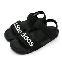 【ADIDAS】ADILETTE SANDAL K 黑 中大童 涼鞋(G26879)