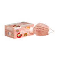 萊潔 醫療防護成人口罩-蜜光橘(50片入/盒)(衛生用品,恕不退貨,無法接受者勿下單)