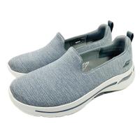 SKECHERS 女鞋 ARCH FIT 運動鞋 寬楦 健走鞋 足底筋膜炎舒緩 124480WGRY [陽光樂活] (C4)