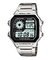 CASIO 卡西歐 10年電力運動時尚數位腕錶 AE-1200WHD-1AVDF 原廠公司貨 附保證卡 保固期一年 手錶 運動錶 電子錶