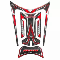 Motorcycle 3D Fuel Tank Decal Is Suitable For YAMAHA AEROX155 NVX155 Night Reflective Fuel Tank Pad protection Sticker Decal