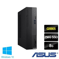 【ASUS 華碩】H-S500SA G5905雙核電腦(G5905/8G/256 SSD/W10)