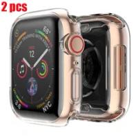 สำหรับ Apple Watch Series 6 SE 5 4 3 44มม.40มม.Iwatch 38MM 42MM สร้อยข้อมือ Protector กรณี Apple Watch Band