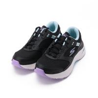 SKECHERS 慢跑系列 GORUN MAX CUSHIONING ARCH FIT 綁帶運動鞋 黑藍 128301BKAQ 女鞋