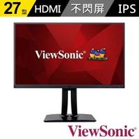 【ViewSonic 優派】VP2785-2K 27型 2K專業繪圖顯示器(Fogra認證100% Adobe RGB)