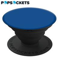 藍色【PopSockets泡泡騷】美國時尚多功能手機支架