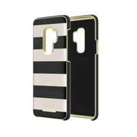 【SAMSUNG 三星】Galaxy S9 Kate Spade 黑白條紋硬殼背蓋